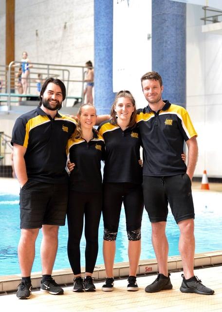 Coaching Team - Nick, Kate, Eleanor, James